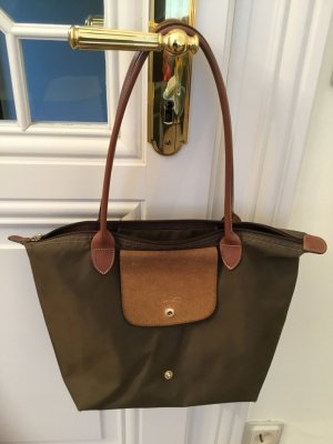 Longchamps Handtasche UND Kosmetiktasche Khaki