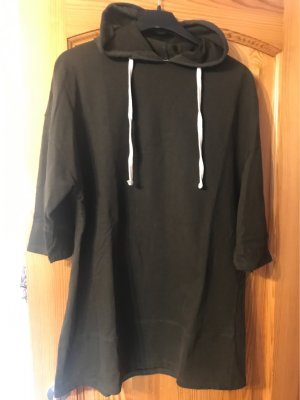 Zara Hooded Sweatshirt dark green