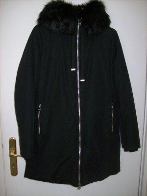 Zara Basic Giacca lunga nero