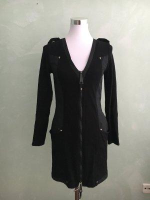 Carell Thomas Long Jacket black mixture fibre