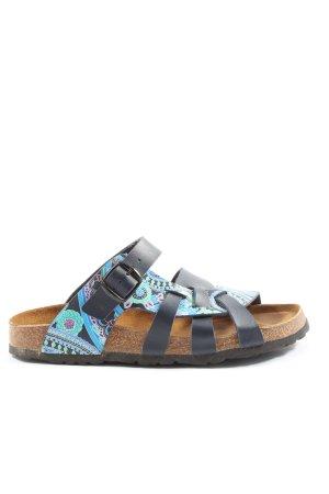 Longo Sandalias cómodas estampado con diseño abstracto look casual
