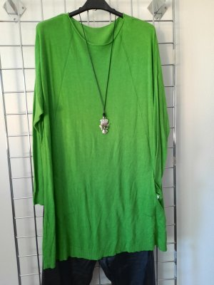 Made in Italy Pull long vert gazon
