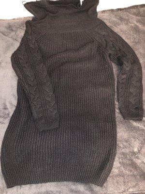Lange jumper zwart