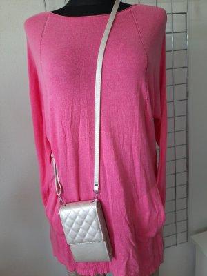 Made in Italy Długi sweter różowy