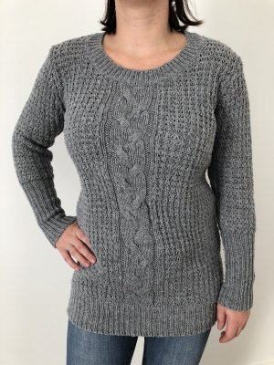 FlashLights Cable Sweater grey