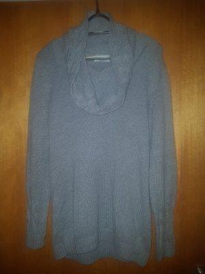 Tom Tailor Długi sweter jasnoszary