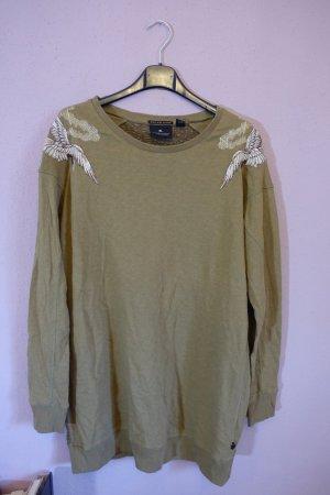 Longpulli, Longpullover, Sweatshirt, Pullover, Sweater, Maison Scotch, Stickerei