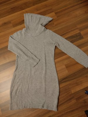 3 Suisses Turtleneck Sweater light grey polyamide