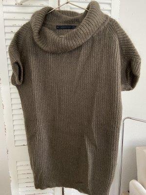 Zara Lange jumper grijs-bruin