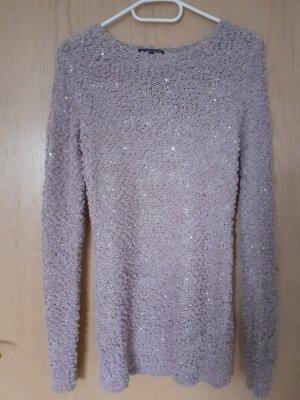 mister*lady Swetrowa sukienka w kolorze różowego złota