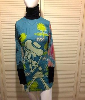 Custo Barcelona Maglione lungo multicolore Cotone