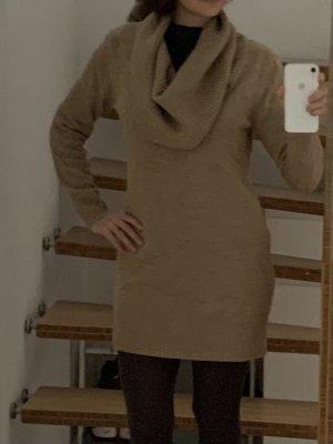 H&M Maglione lungo marrone chiaro