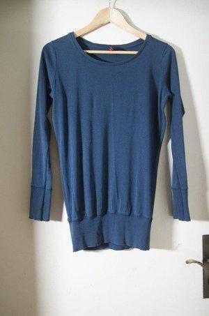 Longpullover Hoodie Tunika Longshirt Sweater Sweatshirt Shirt Longtop Minikleid Dress