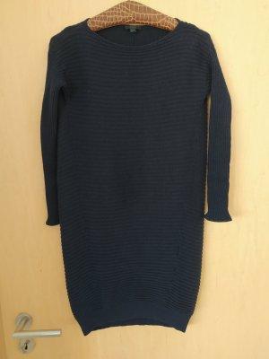 COS Swetrowa sukienka ciemnoniebieski