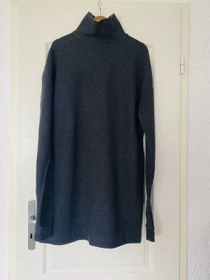 COS Jersey largo gris oscuro-gris antracita
