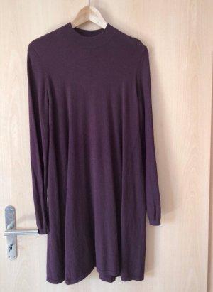 Pieces Long Sweater bordeaux-purple