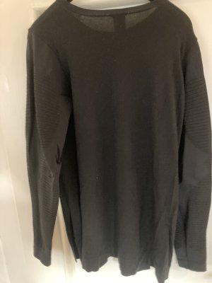 Wolford Długi sweter czarny Wiskoza