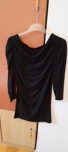 Długa koszulka czarny