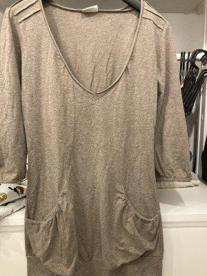 Avanti Lang shirt lichtbruin