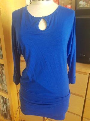 3 Suisses Camicia lunga blu acciaio