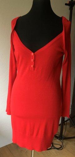 3 Suisses Long Shirt red viscose