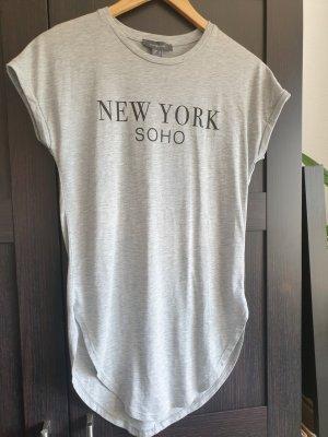 Primark Camicia lunga grigio chiaro