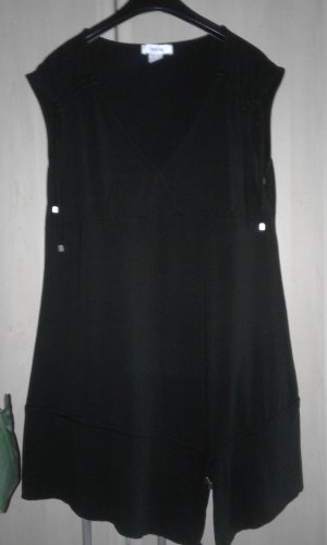 Heine Camicia lunga nero Viscosa