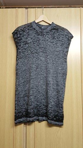 Longshirt, graumeliert