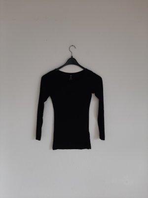 Longshirt H&M XS schwarz