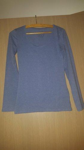 Longshirt Hellblau