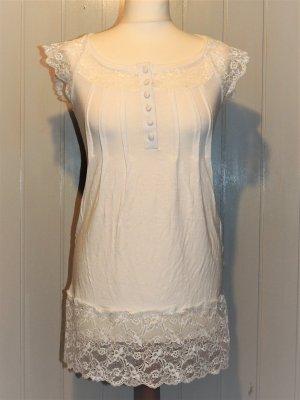 Longshirt in creme von Linea Tesini Größe 36