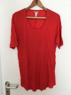 Longshirt in Rot von H&M Trend