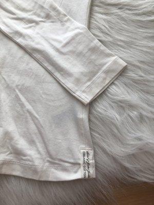 Longshirt in weiß
