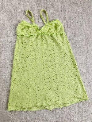 Calzedonia Camicia lunga verde pallido