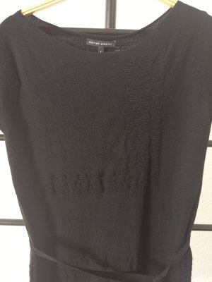 Sarah Pacini Long Shirt black viscose