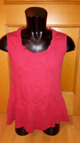 Aniston Frill Top red