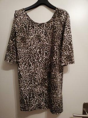Tamaris Lang shirt zwart-lichtbruin