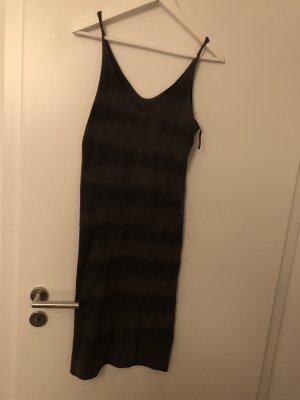 10 Days Midi Dress grey brown-khaki