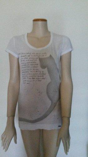 Longshirt mit Cat Print von Strenesse