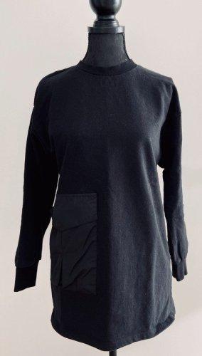 Zara Long Sweater black mixture fibre