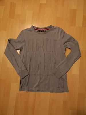 Longshirt mit Frontprint
