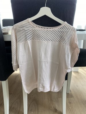 Short Sleeve Sweater pink-light pink