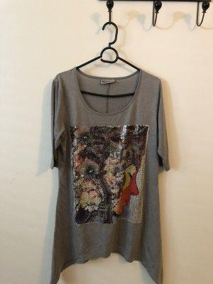 Long Shirt grey spandex