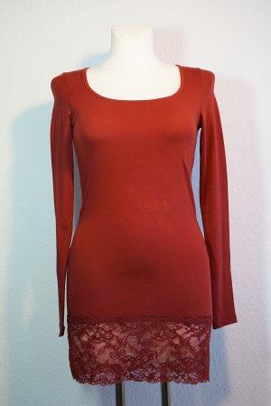 Longshirt mit Spitze von Vero Moda