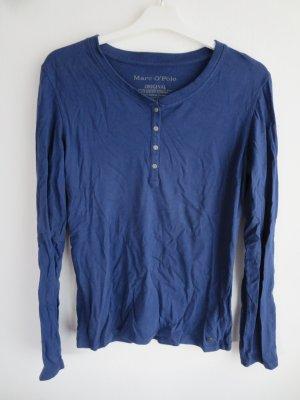 Longshirt Relax Schlafshirt dunkelblau