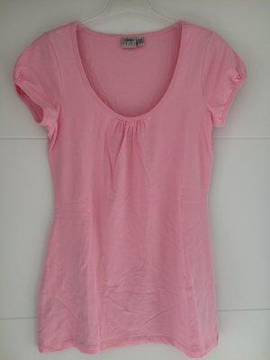Esprit Camicia lunga rosa Cotone