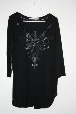 Longshirt schwarz Gr.L