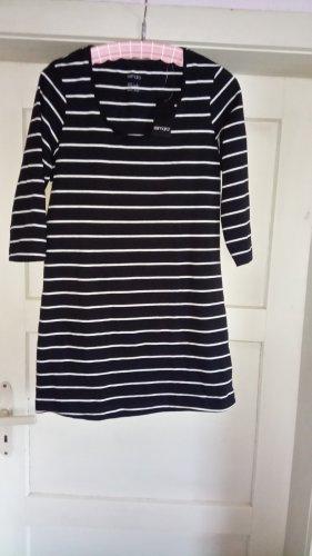 Longshirt schwarz-weiß gestreift Gr. M von Esmara
