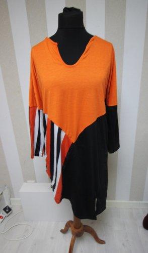 Longshirt Tunika Shirt Top chic sweatshirt vokuhila