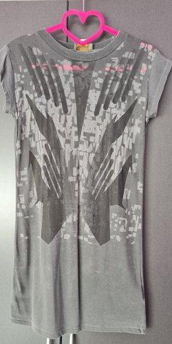 Diesel Camicia lunga grigio chiaro-grigio scuro
